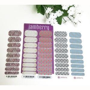 Jamberry Nail Wraps - Half Sheet Lot
